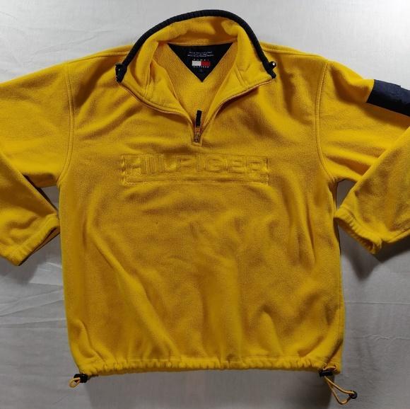9874308c Vintage Tommy Hilfiger Fleece Pullover Jacket VTG.  M_5b3e0aed2e1478fad12f5af9